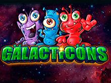 Galacticons на деньги в виртуальном казино