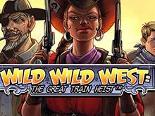 Игровой автомат Дикий Дикий Запад: Великое Ограбление Поезда